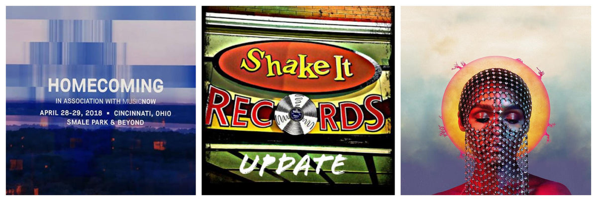 Shake It Update 4/26/18: Thanks For a Killer RSD! New from