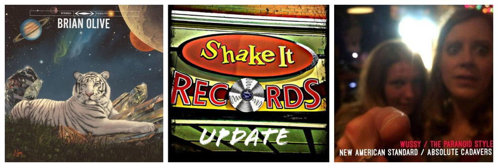 Shake It Update 7/13/18: New Brian Olive & Wussy/Paranoid Style on Vinyl; New Titles & Reissues!