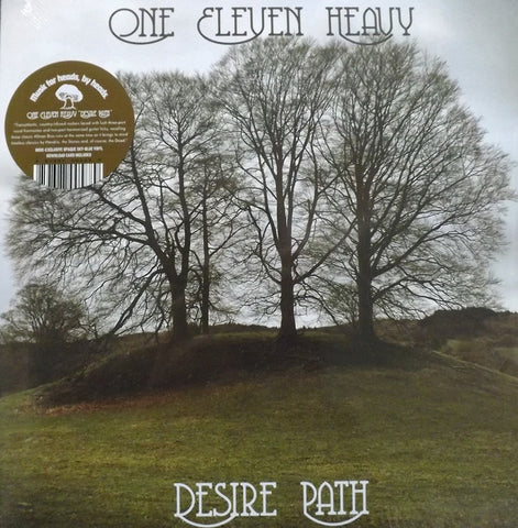 One Eleven Heavy - Desire Path LP Ltd Opaque Sky Blue Vinyl