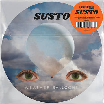 "SUSTO Weather Balloons 7"" Picture Disc RSD 2020 Drop #2"