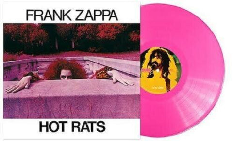 Frank Zappa - Hot Rats LP Ltd. 50th Anniv. Ed. Pink Wax 180g