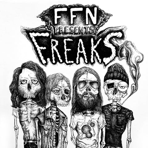 Frontier Folk Nebraska - Freaks LP