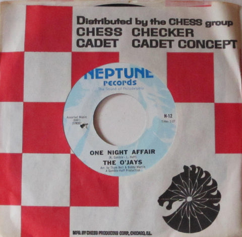 O'Jays - One Night Affair b/w There's Someone 7""