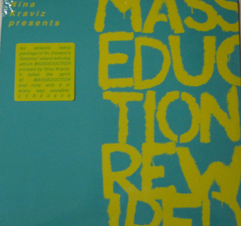 Nina Kaviz - Masseducation Rewired LP