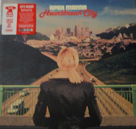 Apex Manor - Heartbreak City LP Ltd. Ed. Red Vinyl