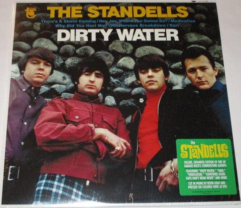 Standells - Dirty Water LP Mono Ltd. Ed. Gold Vinyl