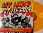 House Guests - My Mind Set Me Free LP OOP Orange Vinyl