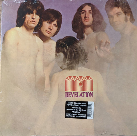 Man - Revelation LP Ltd Purple Vinyl