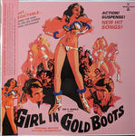 Nicholas Carras - Girl In Gold Boots OST LP + DVD Ltd Gold Vinyl