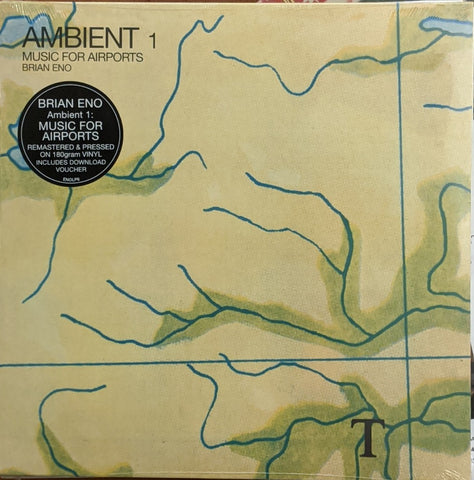 Brian Eno - Ambient 1 Music For Airports LP remastered