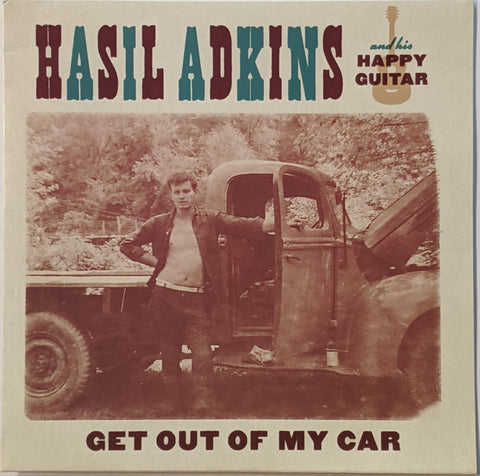 Hasil Adkins - Get Out of My Car 7""