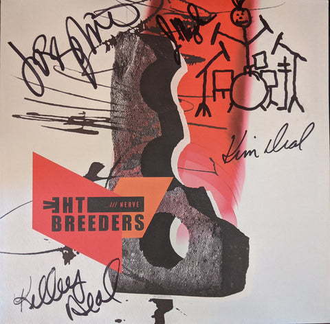 Breeders - All Nerve LP SIGNED