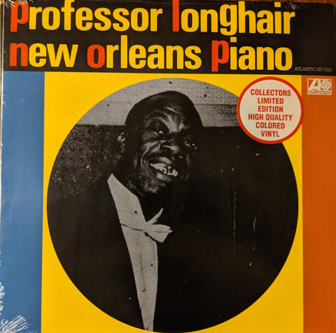 Professor Longhair - New Orleans Piano LP Ltd Colored Vinyl