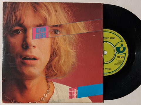 "Kevin Ayers - Money Money Money 7"" UK Picture Sleeve"