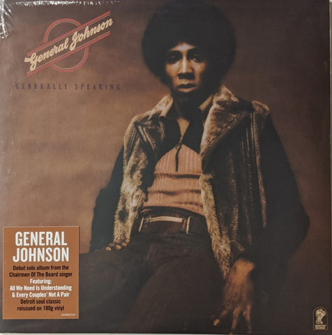 General Johnson - Generally Speaking LP 180 gram UK import