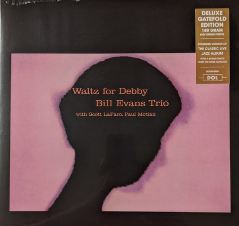 Bill Evans Trio - Waltz For Debby LP w/ bonus track 180 gram HQ Vinyl Gatefold