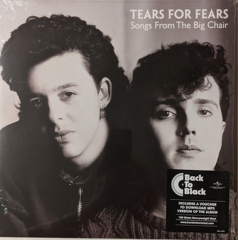 Tears For Fears - Songs From The Big Chair LP 180 gram EU Import