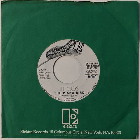"Doors - Piano Bird 7"" Mono/Stereo Mix Promo"