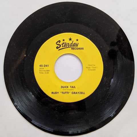 "Rudy ""Tutti"" Grazell - Duck Tail b/w You're Gone  7"" Repro"