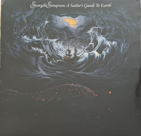 Sturgill Simpson - A Sailor's Guide To Earth LP + CD
