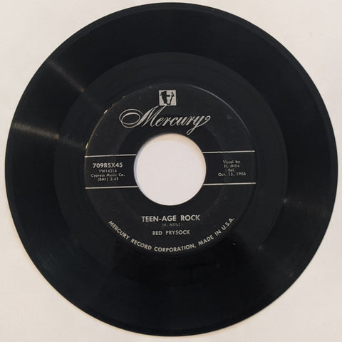 Red Prysock - Teen-Age Rock b/w Paqino Walk  7""