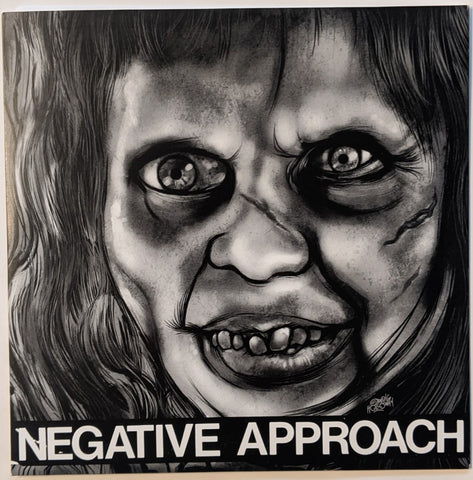 "Negative Approach - S/T 7"" ep"