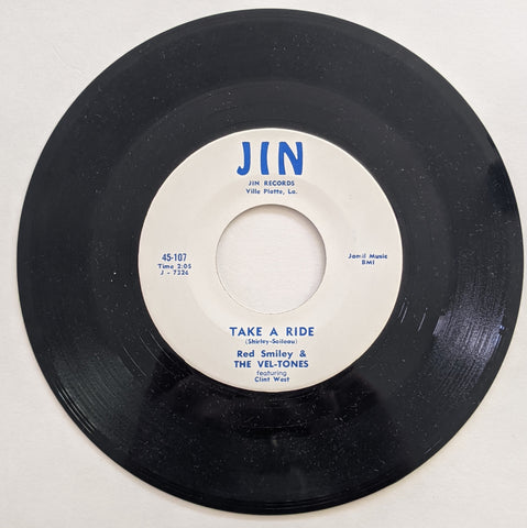 "Red Smiley & Vel-Tones - Take A Rise b/w Lover Blues 7"" Repro"