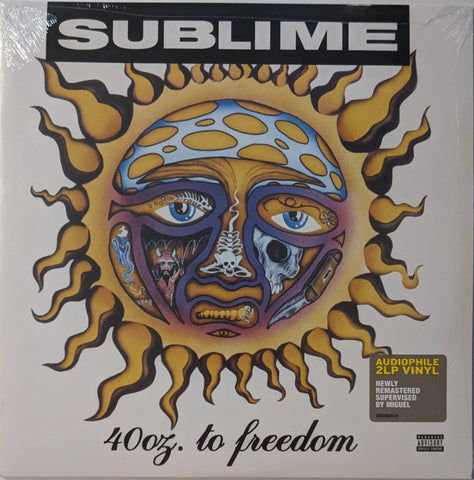 Sublime - 40 oz. to Freedom 2 LP RM Audiophile