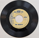 "Crickets - Little Hollywood Girl b/w Parisian Girl  7"" Promo Label"