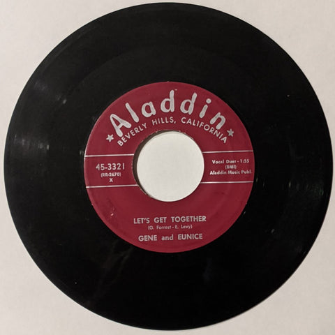 Gene & Eunice -  Let's Get Together b/w I'm So In Love With You 7""