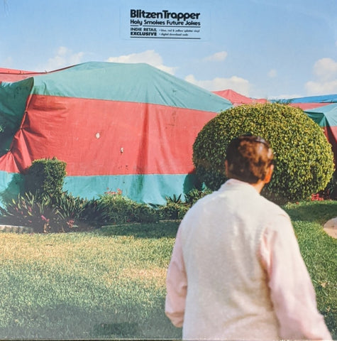 Blitzen Trapper - Holy Smokes Future Jokes LP Indie Exclusive Red, Yellow & Blue Splatter