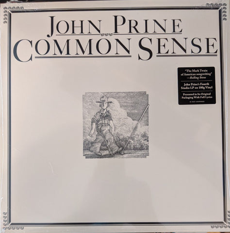 John Prine - Common Sense LP 180 gram