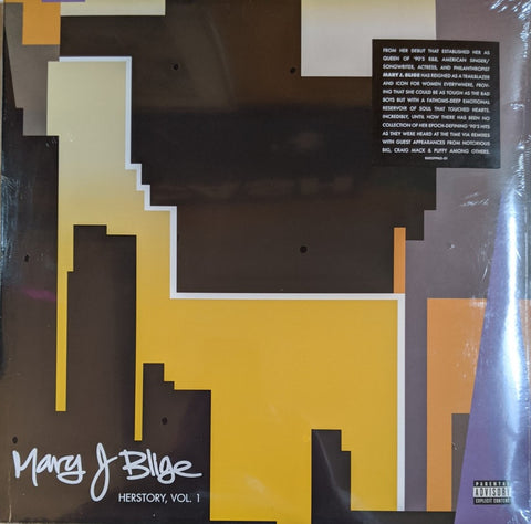 Mary J. Blige - Herstory Vol. 1 2 LP