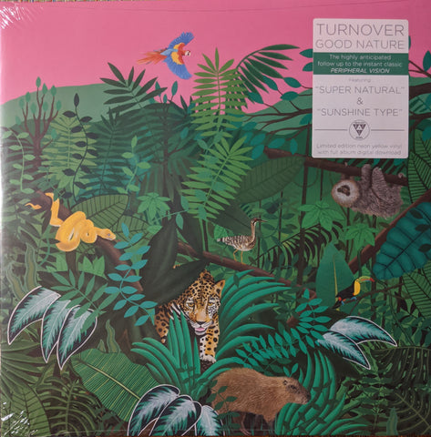 Turnover - Good Nature LP Ltd. Neon Yellow Vinyl