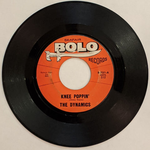 Dynamics - Knee Poppin' b/w Who's Afraid of Virginia Wolf 7""