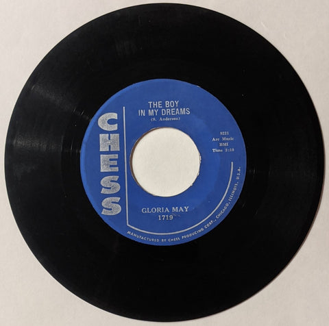 Gloria May - What-Cha Doing In The Woods b/w Boy In My Dreams  7""