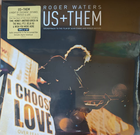 Roger Waters - Us + Them OST 3 LP
