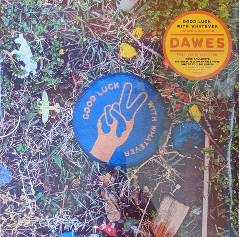 Dawes - Good Luck With Everything LP Ltd Indie 180 gram Yellow Marble Vinyl