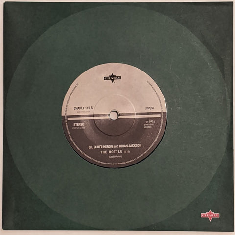 "Gil Scott-Heron & Brian Jackson ‎– The Bottle b/w Daddy Loves You 7"" Ltd. Green Vinyl RSD 2013"