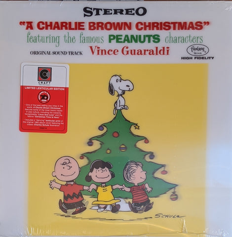 Vince Guaraldi - Charlie Brown Christmas LP Ltd Lenticular Edition