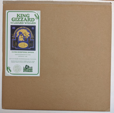 King Gizzard & Lizard Wizard - Flying Microtonal Banana LP Ltd Rancid Rainwater Eco Wax