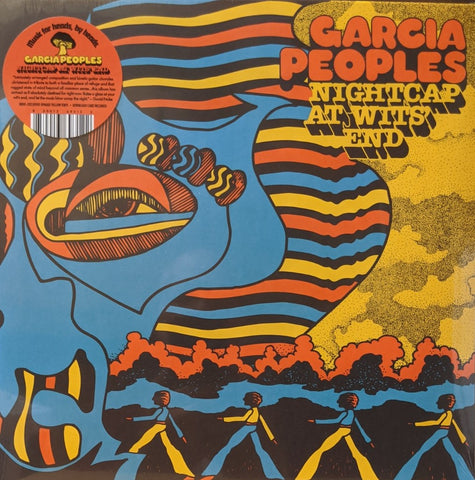 Garcia Peoples - Nightcaps At Wits' End LP Indie Only Opaque Yellow Vinyl