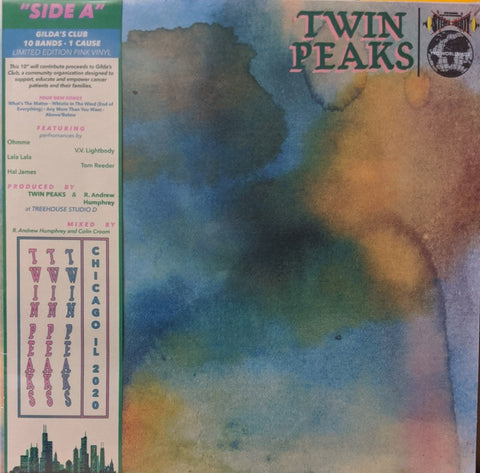 "Twin Peaks - Side A 10"" Ltd Pink Vinyl"