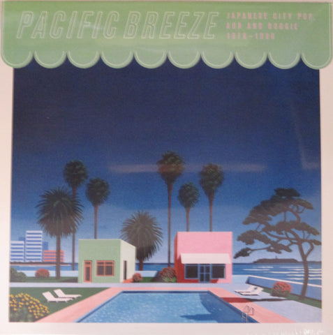 V/A Pacific Breeze Japanese City Pop, AOR & Boogie 1976 - 1986 2 LP