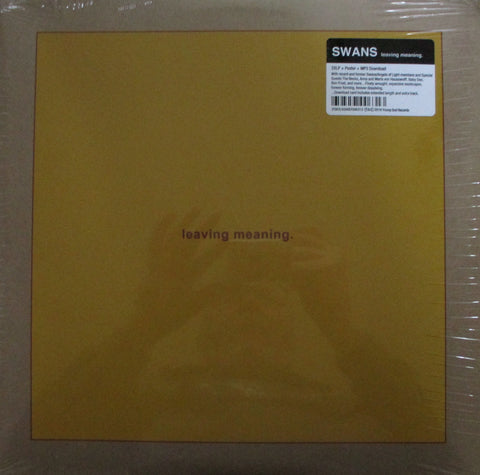 Swans - Leaving Missing 2 LP + Poster