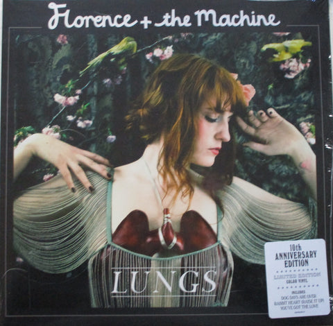 Florence & The Machine - Lungs Ltd Clear Vinyl 10th Anniv Edition