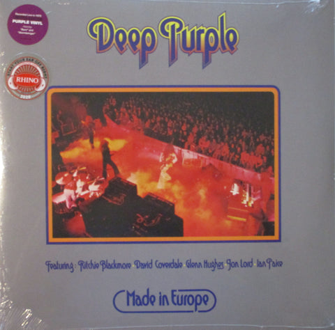 Deep Purple - Made In Europe LP Ltd. Ed. Purple Vinyl