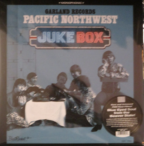 V/A Garland Records Pacific Northwest Juekbox LP Ltd. White Vinyl