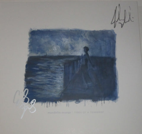 Mandolin Orange - Tides of a Teardrop 2xLP SIGNED Blue Wax