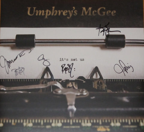 Umphrey's McGee - It's Not Us 2 LP FULLY SIGNED